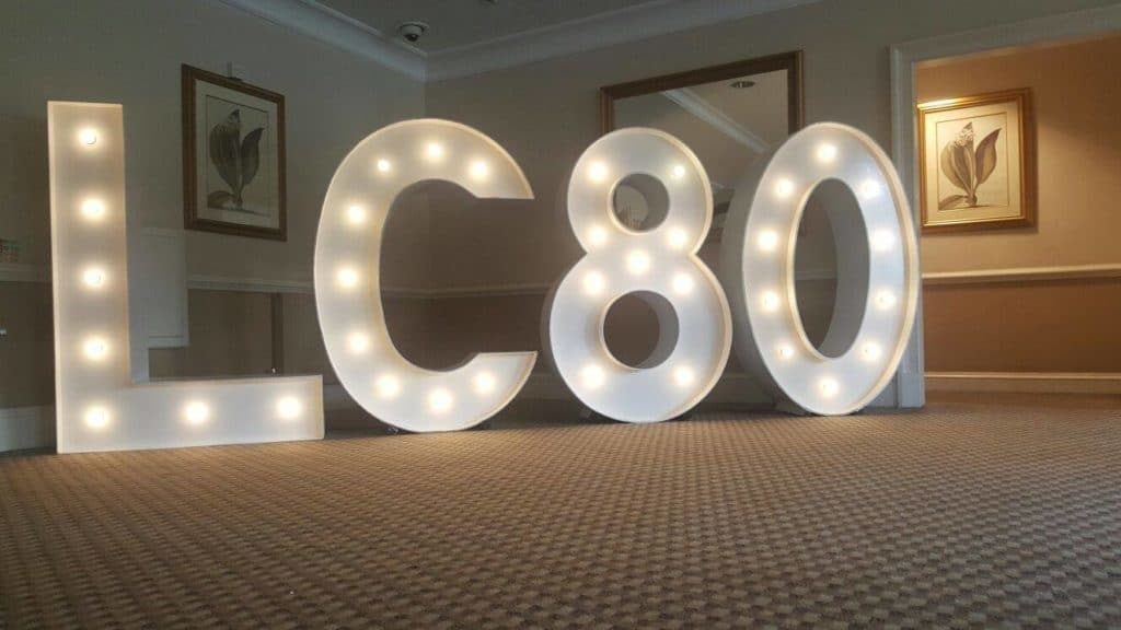Light Up Letters & Numbers