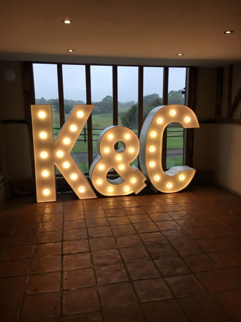 Coltsfoot Light Up Letters