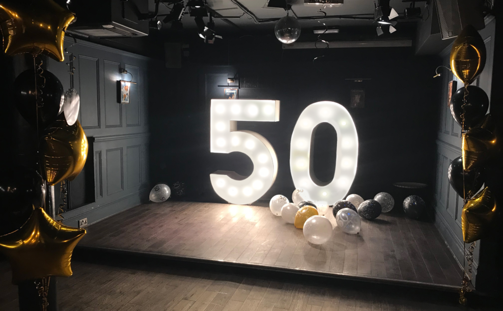 LED 50 Numbers