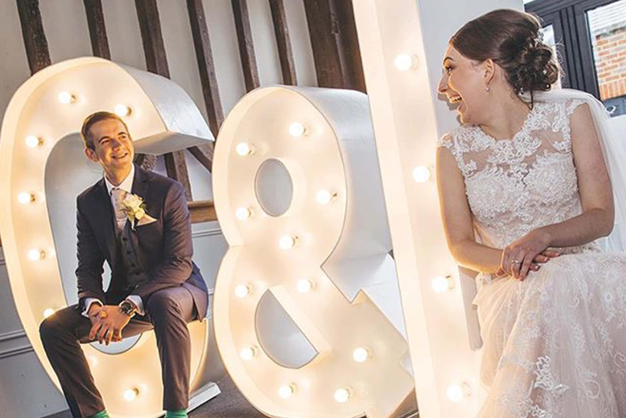 Light Up Letters for Weddings