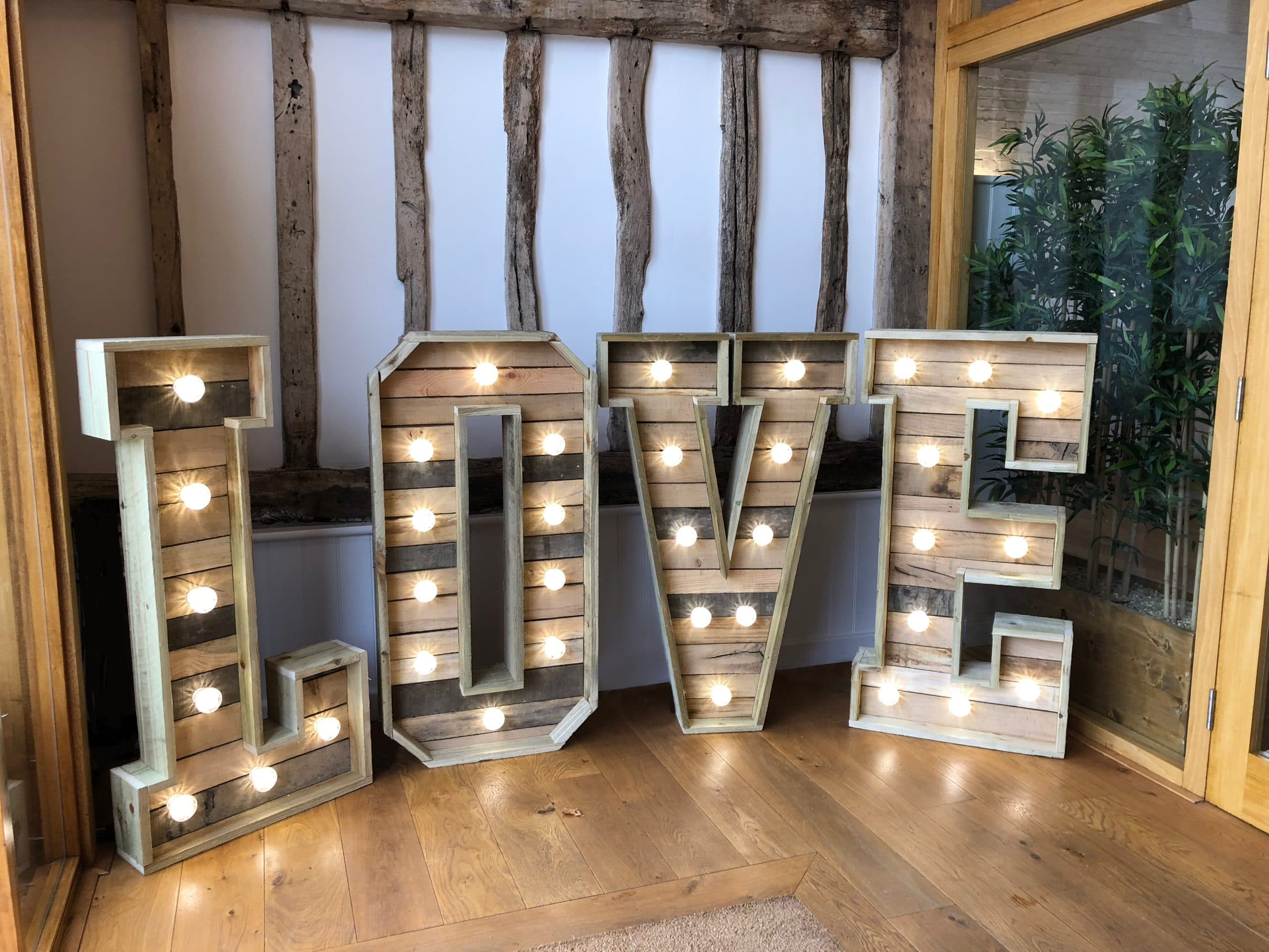 Rustic Love Letters at Alswick Barn