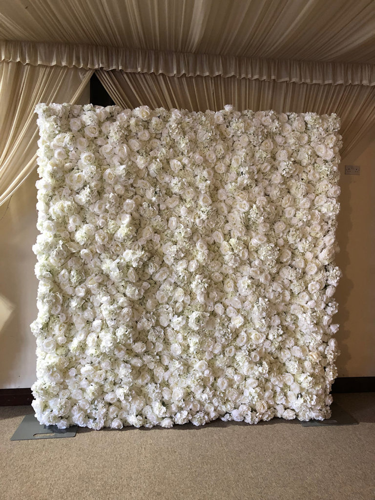 Flower Wall Hire Hertfordshire