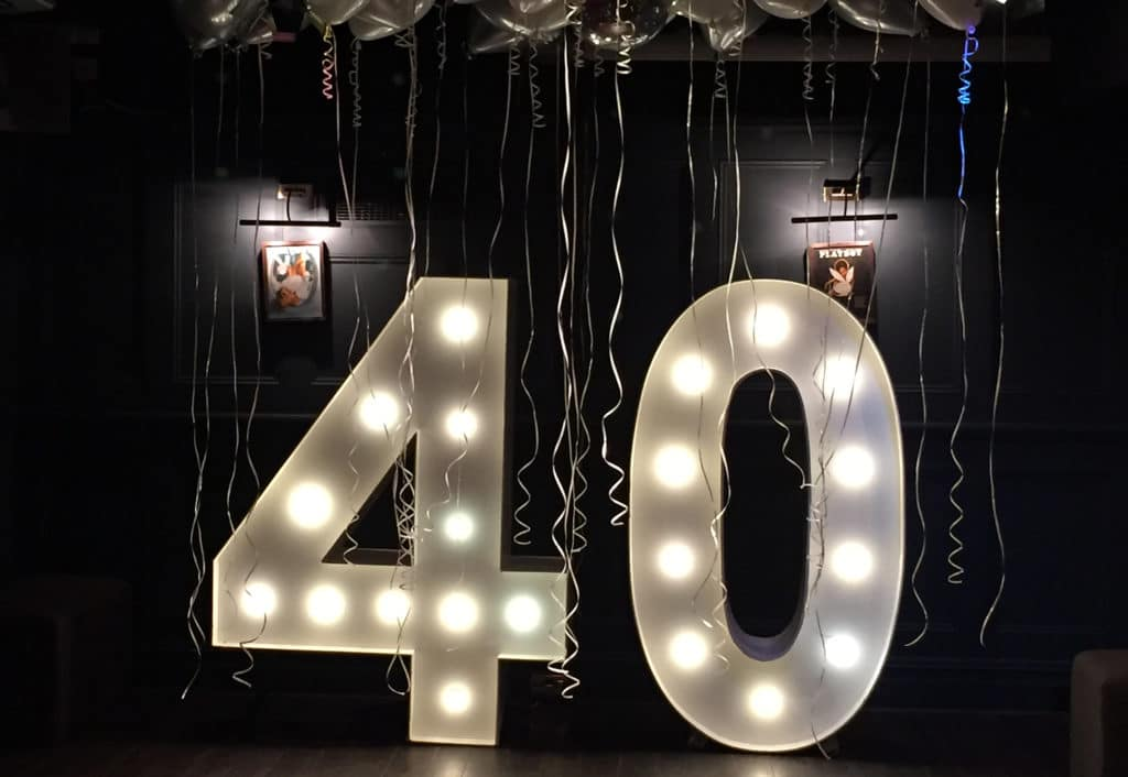 LED 40 Numbers Herts