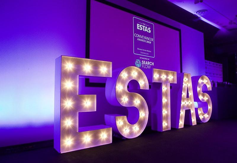 ESTAS Awards Light Up Letters