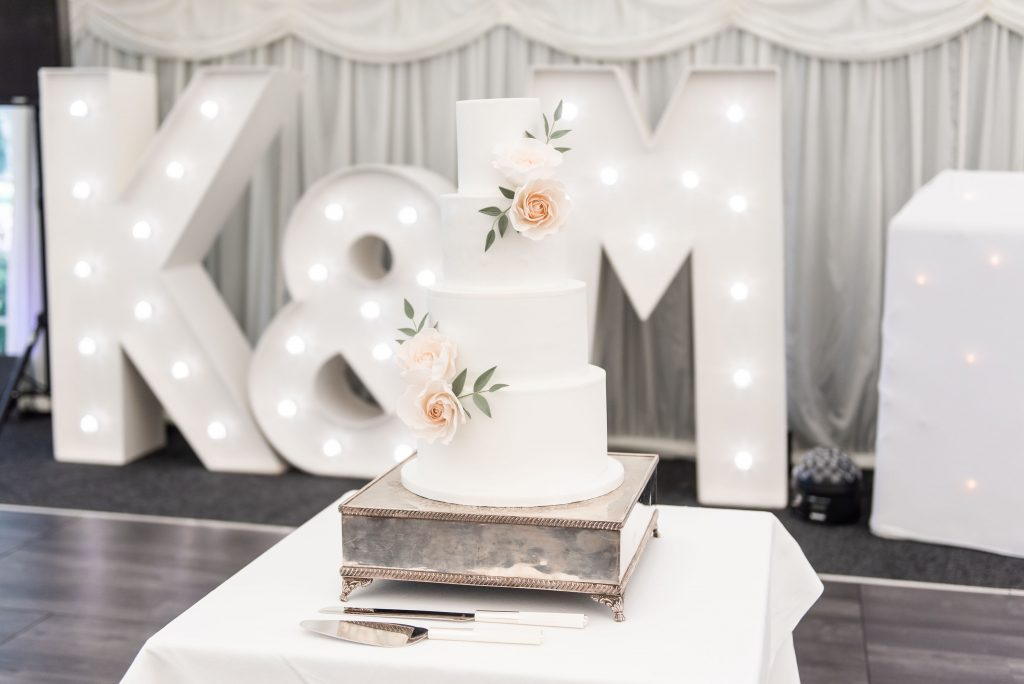 Giant White Initial Letters Essex