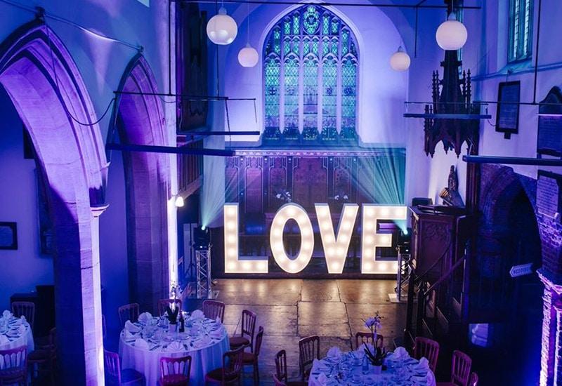 Light Up Love Letters Stoke Newington