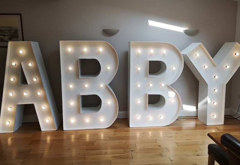 Light Up Name Hire
