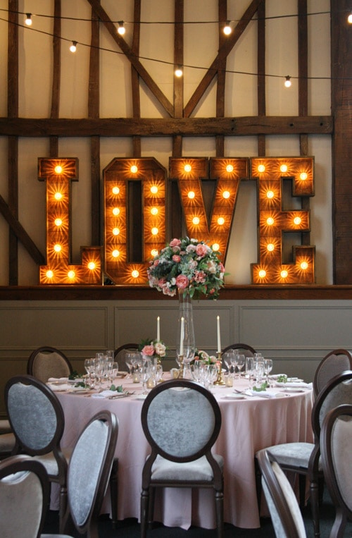 Rustic LOVE at Essendon Country Club