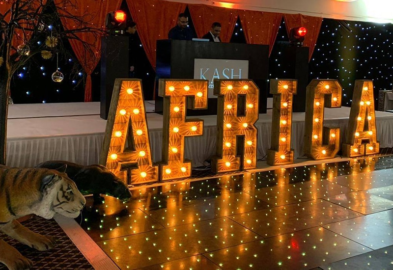 Rustic Africa Letters