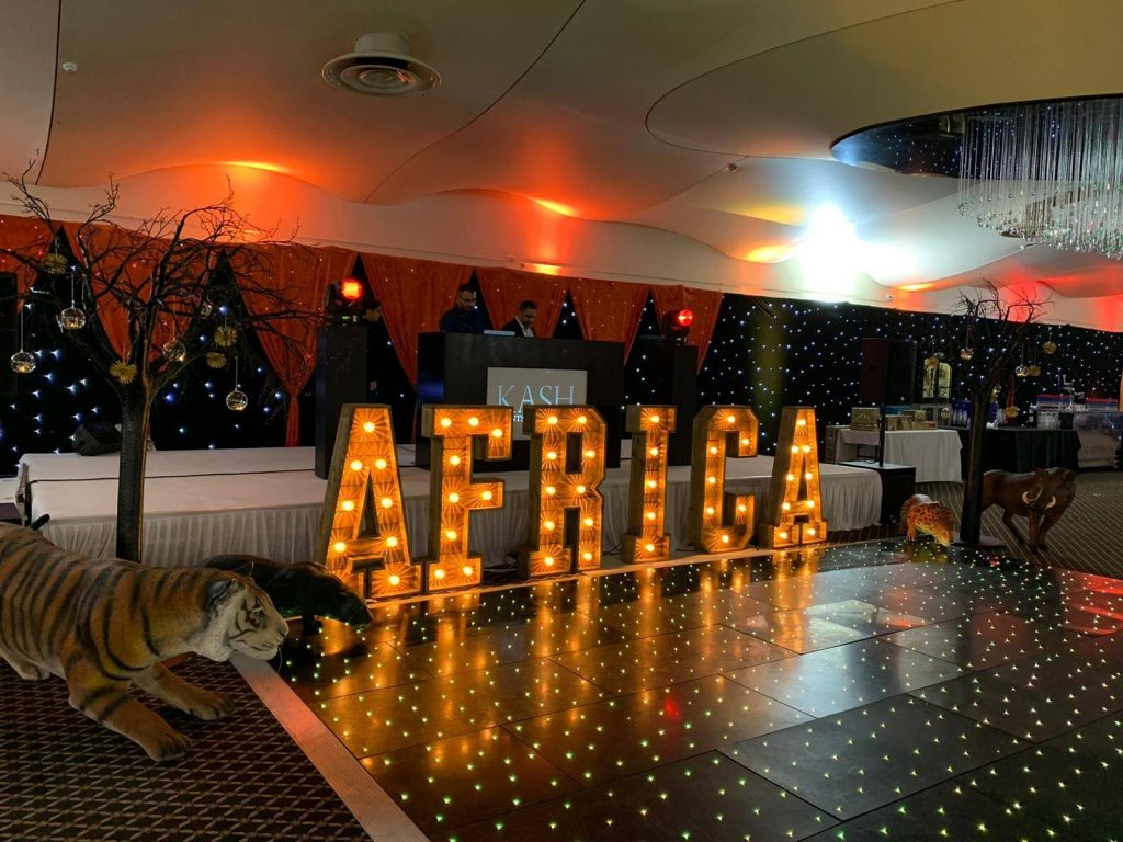 African themed Christmas Party