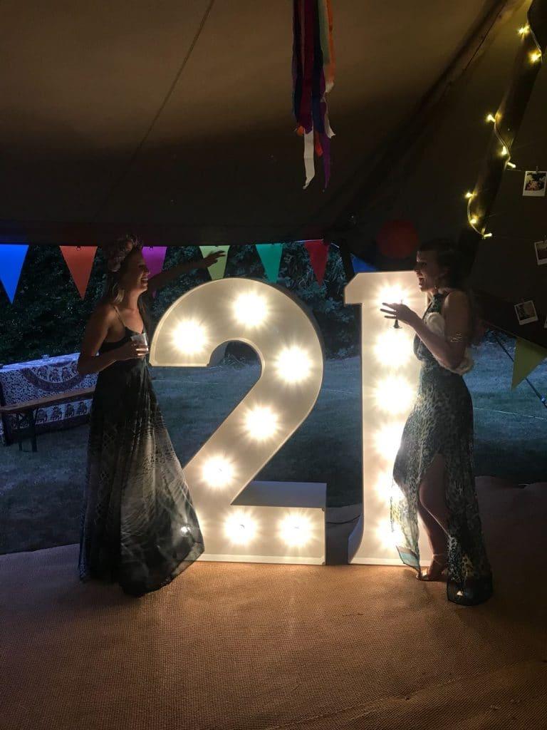 Light Up 21 Hire