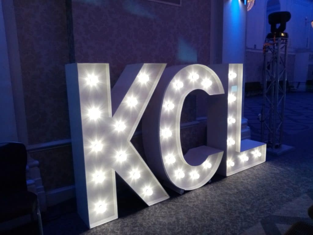 KCL Light Up Letters