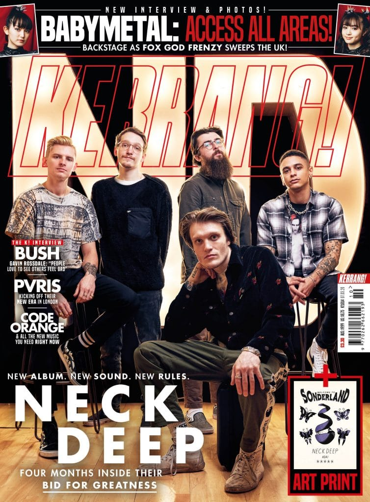 Kerrang Magazine - Neck Deep