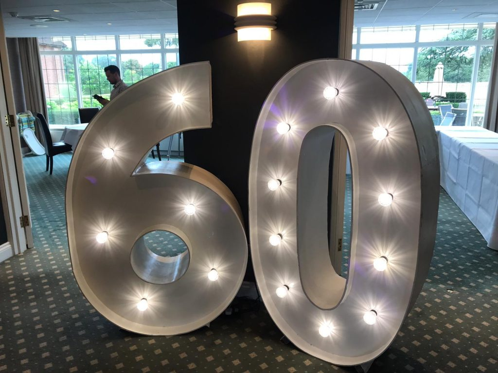 Giant 60 Number Hire