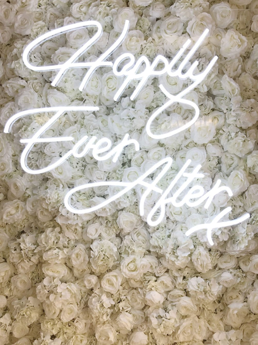 Happily Ever After Neon Sign Hire Hertfordshire