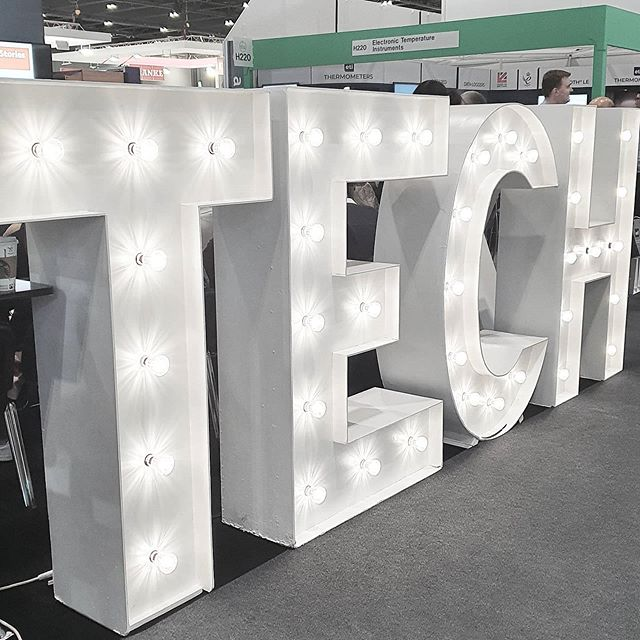 Trade Show Light Up Letters