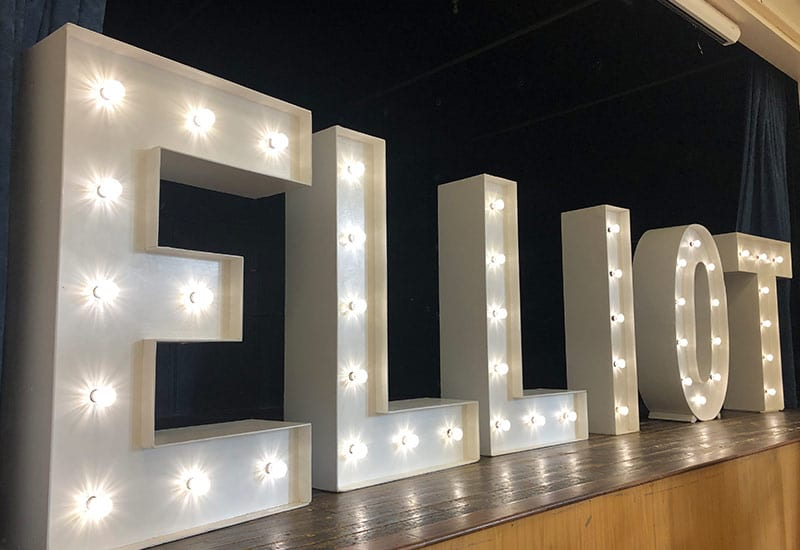 Light Up Name for Party