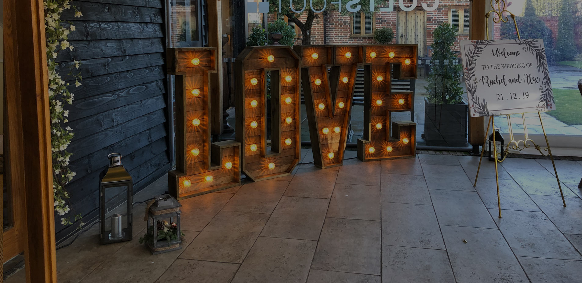 Rustic LOVE at Coltsfoot