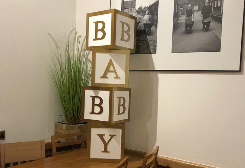 Baby Shower Decor Package Herts