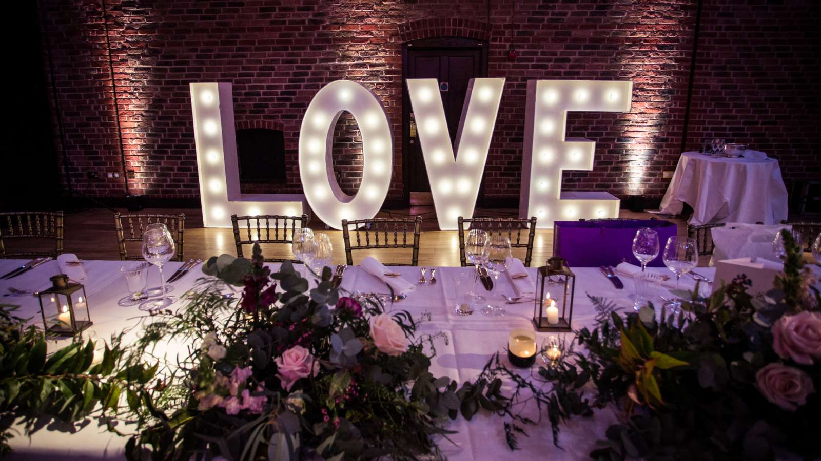 Light Up LOVE at The Brewery - Photo by Blake Ezra