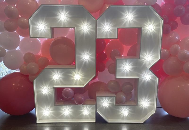 Light Up Numbers Hertfordshire