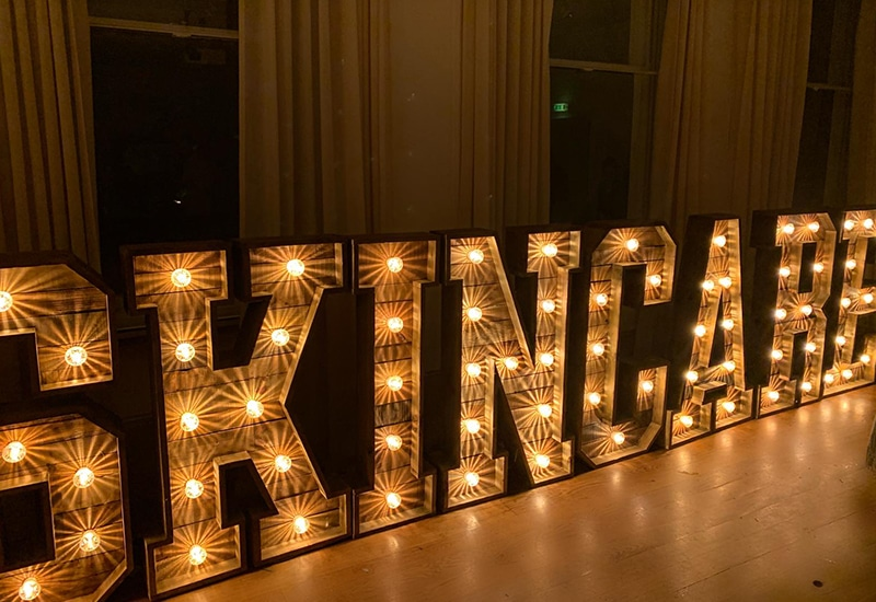 Rustic Light Up Words