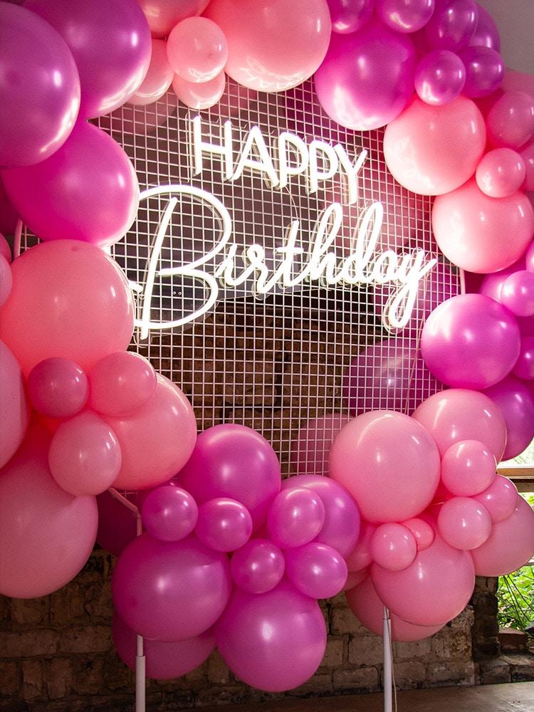 Happy Birthday Neon Sign Hire Hertfordshire