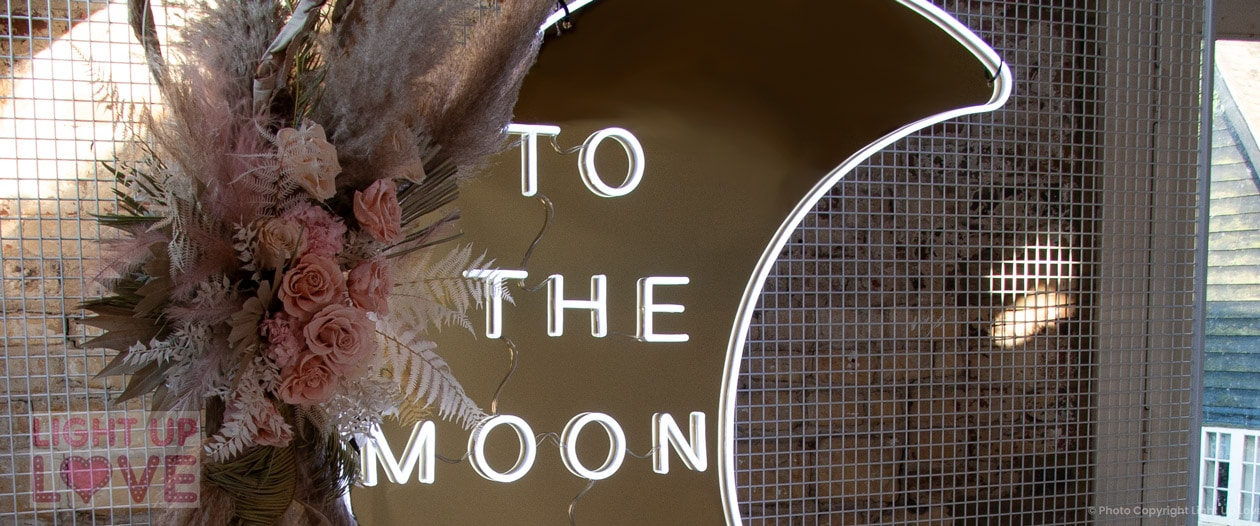 To The Moon and Back Neon