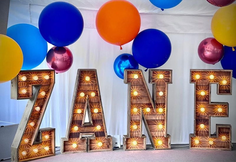 Rustic Light Up Name