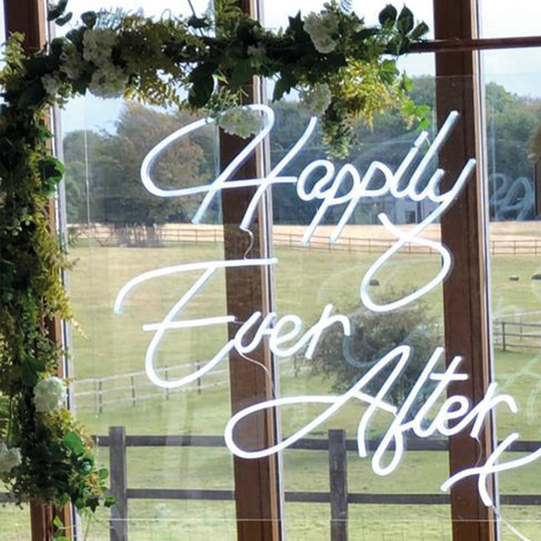 Happily Ever After Neon Sign at Coltsfoot