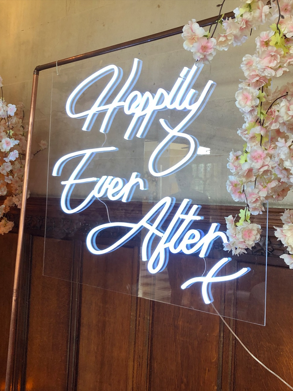 Happily Ever After Neon Sign Fanhams Hall