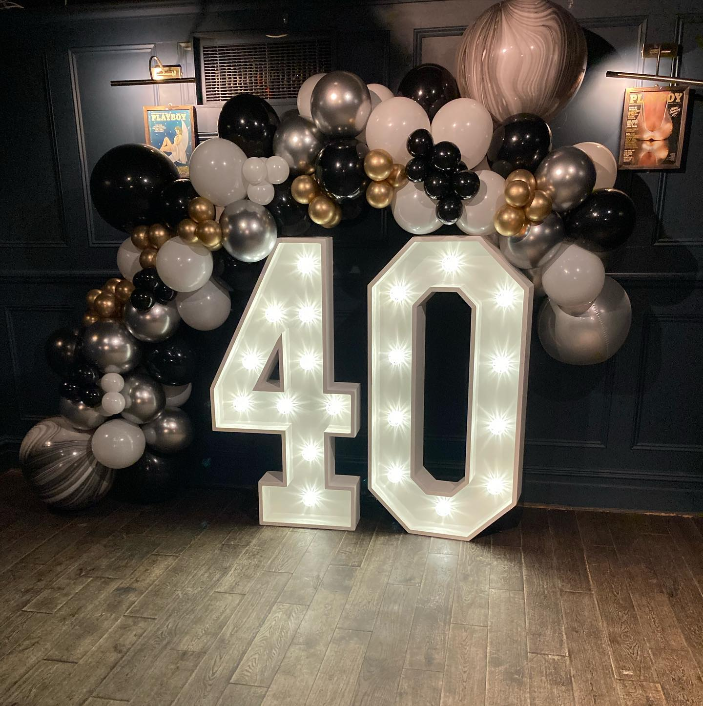 Light Up 40 with Balloons at Hertford House Hotel