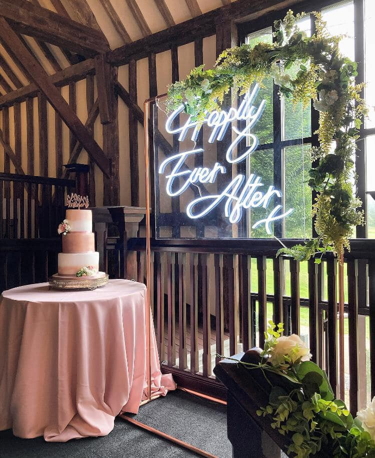 Wedding Neon Essendon Country Club